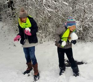 brood & spelen kinderopvang sneeuw